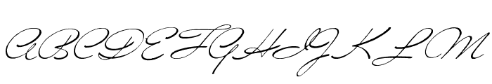 Versitia Font UPPERCASE