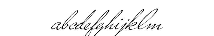 Versitia Font LOWERCASE