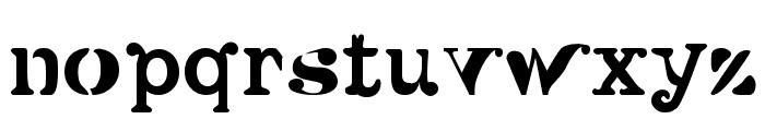 Versu Font LOWERCASE