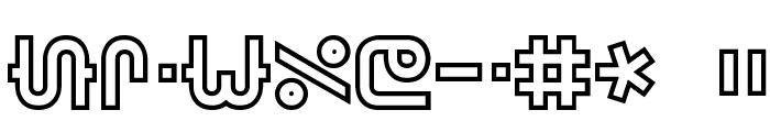Vertigo BRK Font OTHER CHARS