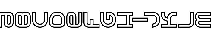 Vertigo BRK Font LOWERCASE