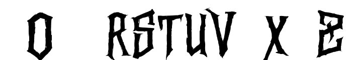 Vertigo Death - Demo Font UPPERCASE