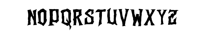 Vertigo Death - Demo Font LOWERCASE