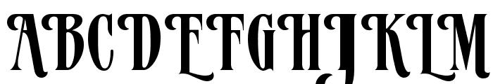 Verve Alternate Font UPPERCASE