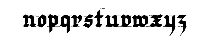 Very Christmess Font LOWERCASE