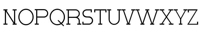 Very Fine Serif Font UPPERCASE