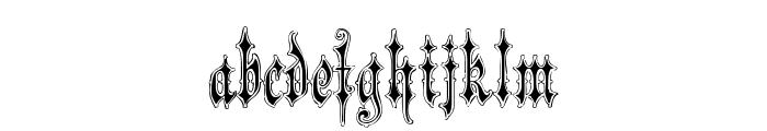 VerzierteFavorite Font LOWERCASE