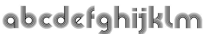 Veselka 4F Font LOWERCASE