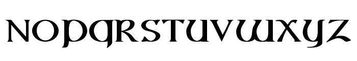 Vespasian-Bold Font UPPERCASE