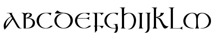Vespasian-Medium Font UPPERCASE