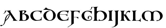 Vespasian2018 Regular Font UPPERCASE
