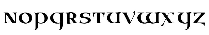 Vespasian2018 Regular Font LOWERCASE