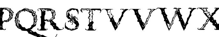 VespasianCaps Font UPPERCASE