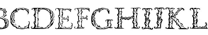 VespasianCaps Font LOWERCASE