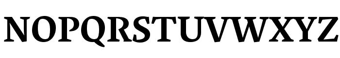 Vesper Libre Bold Font UPPERCASE