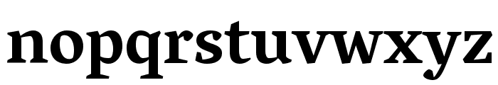 Vesper Libre Bold Font LOWERCASE