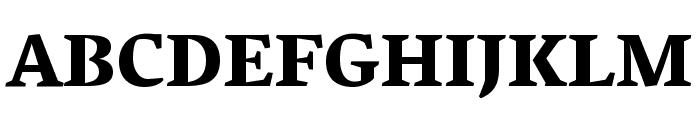 Vesper Libre Heavy Font UPPERCASE