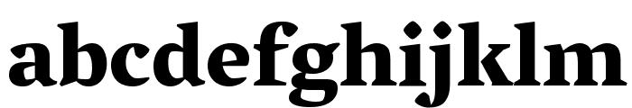 Vesper Libre Heavy Font LOWERCASE