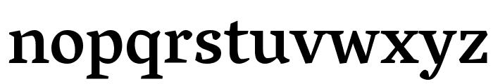 Vesper Libre Medium Font LOWERCASE