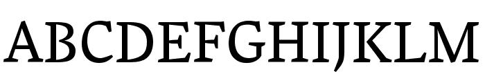 Vesper Libre Font UPPERCASE