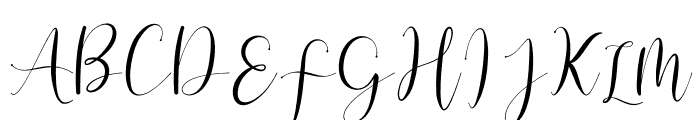 Vessiafree Font UPPERCASE
