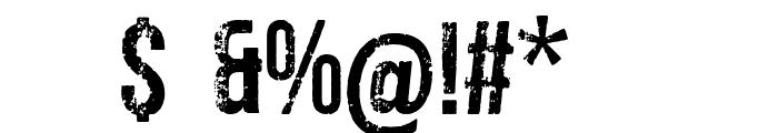 venenosa Font OTHER CHARS