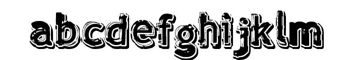 verdy ?volution Font LOWERCASE