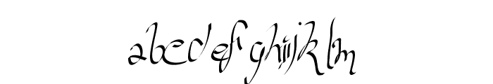 versaille Font LOWERCASE
