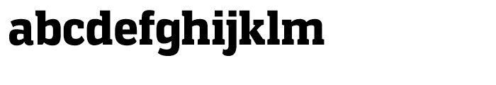 Vectipede Black Font LOWERCASE