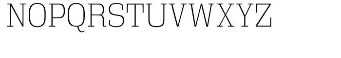 Vectipede Extra Light Font UPPERCASE