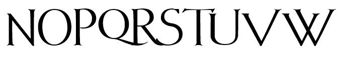 Vectis Bold Font UPPERCASE