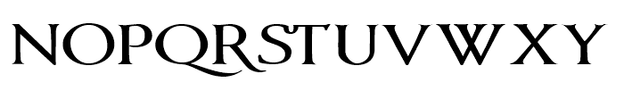Vectis Bold Font LOWERCASE