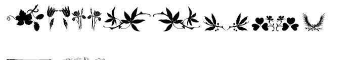 Vegetable Breathe Regular Font LOWERCASE