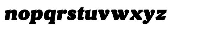 Velino Poster Italic Font LOWERCASE