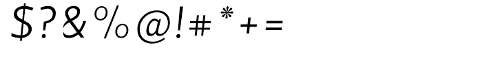 Velino Sans Light Italic Font OTHER CHARS