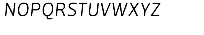 Velino Sans Light Italic Font UPPERCASE