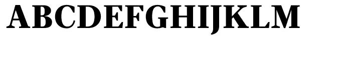 Velino Text Black Font UPPERCASE