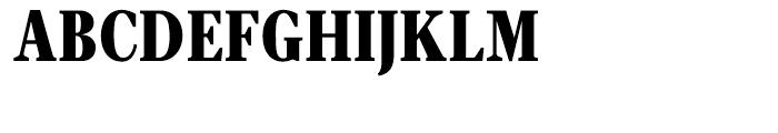 Velino Text Compressed Black Font UPPERCASE