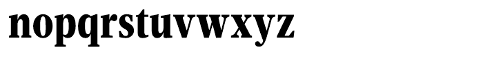 Velino Text Compressed Black Font LOWERCASE