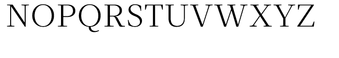 Velino Text Light Font UPPERCASE
