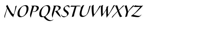 Veljovic Script Cyrillic Medium Font UPPERCASE