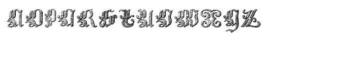 Velvet Gothic Regular Font LOWERCASE
