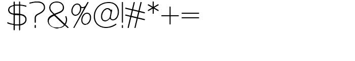 Velveteen Round NF Light Font OTHER CHARS