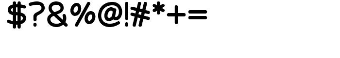 Velveteen Round NF Regular Font OTHER CHARS