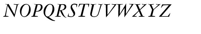 Vendme Regular Italic Font UPPERCASE