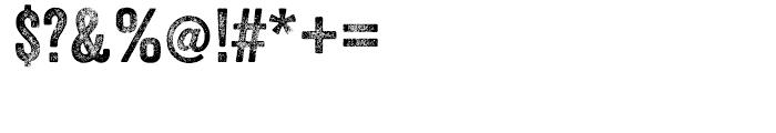 Veneer Three Font OTHER CHARS