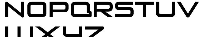 Venus Rising Regular Font LOWERCASE