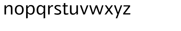 Veotec Regular Font LOWERCASE