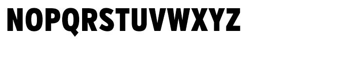 Verb Compressed Black Font UPPERCASE