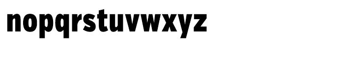 Verb Compressed Black Font LOWERCASE